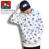 BEN DAVIS ALL OVER HOODIE C-8780037画像