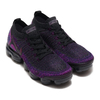 NIKE AIR VAPORMAX FLYKNIT 2 BLACK/NIGHT PURPLE-VIVID PURPLE 942842-013画像