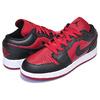 NIKE AIR JORDAN 1 LOW(GS) gym red/black-white 553560-610画像