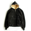 Schott 340US COW SPLIT HOODED JACKET 7554画像