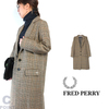 FRED PERRY F6270 Lady's Chesterfield Coat画像