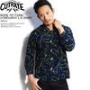 CUTRATE ROPE PATTERN CORDUROY L/S SHIRT -NAVY-画像