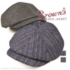 BROWN'S BEACH CASQUET HUNTING MADE BY THE H.W DOG&CO BBJ9-008画像