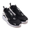NIKE AIR HUARACHE RUN PRM ZIP BLACK/BLACK-WHITE BQ6164-001画像