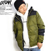 LEFLAH NYLON DOWN JACKET -KHAKI- LEFJK-DOWNK画像