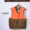 FILSON UPLAND HUMTING VEST Tan/Blaze Orange画像