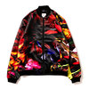 APPLEBUM 18AW Flower Black Blouson MULTI画像