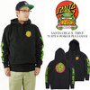TMNT Turtle Power P/O Hooded Santa Cruz Mens Sweatshirt画像