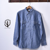 CORONA US NAVY 2 POCKET SHIRT CS002画像