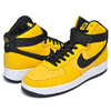 NIKE AIR FORCE 1 HIGH 07 LTHR yellow ochre/black-white AT4963-700画像