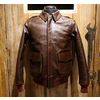 COLIMBO HUNTING GOODS U.S.A.A.F. TYPE LEATHER FLIGHT JACKET ZT-0139画像