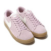 NIKE W BLAZER LOW SD PLUM CHALK/SAIL-OIL GREY-GUM LIGHT BROWN AV9373-500画像