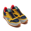 Reebok CL LEATHER RIPPLE ATI OUTDOOR TOXIC YELLOW/COLLEGE NAVY/PRIMAL RED/CLOVER GREEN DV7194画像