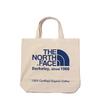 THE NORTH FACE TNF ORGANIC C TOTE ナチュラル x ソーダライトブルー NM81908-SO画像