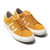 CONVERSE STAR&BARS SUEDE TEAMCOLORS YELLOW 32350503画像