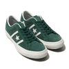 CONVERSE STAR&BARS SUEDE TEAMCOLORS GREEN 32350504画像