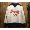 "FREEWHEELERS ATHLETIC SWEAT SHIRT SWEAT SHIRT ""Fronty #35"" 1834002画像"