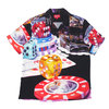 Supreme 18FW Casino Rayon Shirt BLACK画像