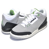 NIKE AIR JORDAN 3 RETRO(GS) TINKER lt smoke grey/chlorophyll 398614-006画像