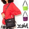 X-girl SLASH LOGO TAPE SHOULDER BAG 5184096画像