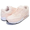NIKE WMNS AIR MAX 90 LEATHER guava ice/guava ice-black 921304-800画像