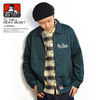BEN DAVIS TC TWILL WORK JACKET -D.GREEN- G-9380021画像