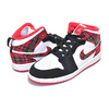 NIKE JORDAN 1 MID(PS) university red/black-white 640734-607画像