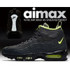 NIKE AIR MAX 95 SNEAKERBOOT anthracite/volt-dark grey 806809-003画像