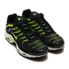 NIKE AIR MAX PLUS BLACK/VOLT-WHITE-PLATINUM TINT 852630-037画像