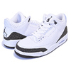 NIKE AIR JORDAN 3 RETRO white/dark mocha-chrome 136064-122画像