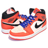 NIKE AIR JORDAN 1 MID SE team organge/black-crimson tint 852542-800画像