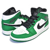 NIKE AIR JORDAN 1 MID SE pine green/black-sail 852542-301画像