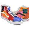 VANS SK8-HI (PATCHWORK) MULTI / TRUE WHITE VN0A38GEVMF画像