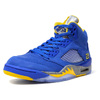 "NIKE AIR JORDAN 5 LANEY JSP ""LANEY"" ""MICHAEL JORDAN"" ""LIMITED EDITION for JORDAN BRAND"" BLU/YEL/GRY/SLV CD2720-400画像"