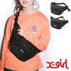 X-girl BOX LOGO HIP BAG 5191010画像