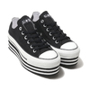 CONVERSE ALL STAR CHUNKYLINE OX BLACK 32893241画像