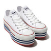 CONVERSE ALL STAR CHUNKYLINE OX WHITE 32893240画像
