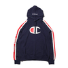 Champion × ATMOS LAB P/O HOODED SWEATSHIRT NAVY C8-P121-370画像