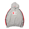 Champion × ATMOS LAB P/O HOODED SWEATSHIRT OXFORD GREY C8-P121-070画像
