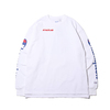 Champion × ATMOS LAB CREW NECK SWEATSHIRT WHITE C8-P015-010画像
