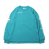 Champion × ATMOS LAB CREW NECK SWEATSHIRT AQUA C8-P015-460画像