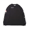Champion × ATMOS LAB CREW NECK SWEATSHIRT BLACK C8-P015-090画像
