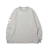 Champion × ATMOS LAB CREW NECK SWEATSHIRT OXFORD GREY C8-P015-070画像