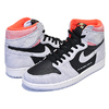 NIKE AIR JORDAN 1 HI OG neutral grey/black-hyper crimson 555088-018画像