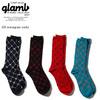 glamb GB monogram socks GB0219-AC03画像