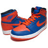 "NIKE AIR JORDAN 1 RETRO HI OG ""New York Knicks"" g.royal/t.org-g.royal 555088-407画像"