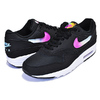 NIKE AIR MAX 1 SE black/blue gaze-active fuchsia AO1021-003画像
