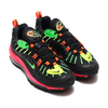 NIKE AIR MAX 98 NEON BLACK/GREEN STRIKE-RACER PINK-VOLT CI2291-083画像