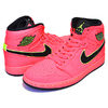 NIKE WMNS AIR JORDAN 1 RETRO PREMIUM hot punch/black-volt AQ9131-600画像