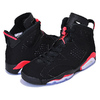 "NIKE AIR JORDAN 6 RETRO ""INFRARED"" ""MICHAEL JORDAN"" ""LIMITED EDITION for JORDAN BRAND"" BLK/RED/WHT 384664-060画像"